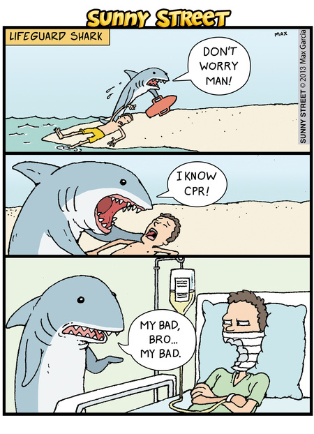 Shark-Lifeguard